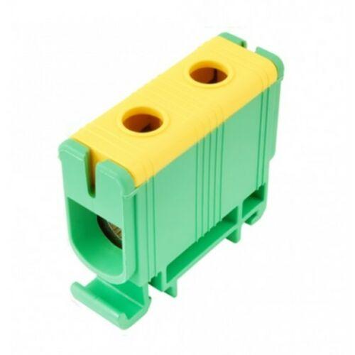 Pollmann 2090109 UK95/1 sorkapocs zöld-sárga 16-95 réz, 16-95 alu