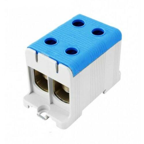 Pollmann 2090202 UK50/2 sorkapocs dupla kék 2,5-50 réz, 6-50 alu