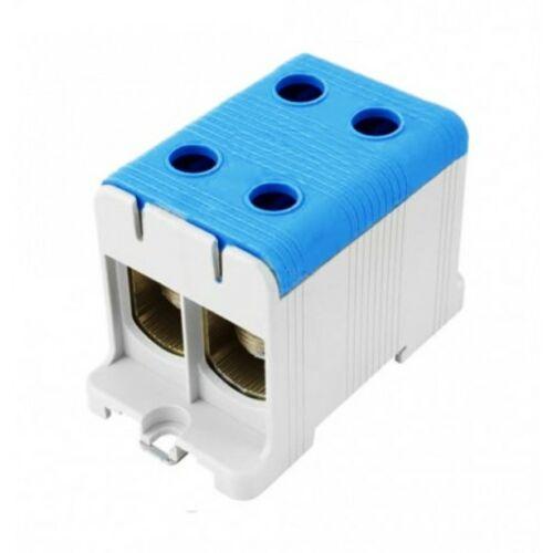 Pollmann 2090211 UK150/2 sorkapocs dupla kék 35-150 réz, 35-150 alu