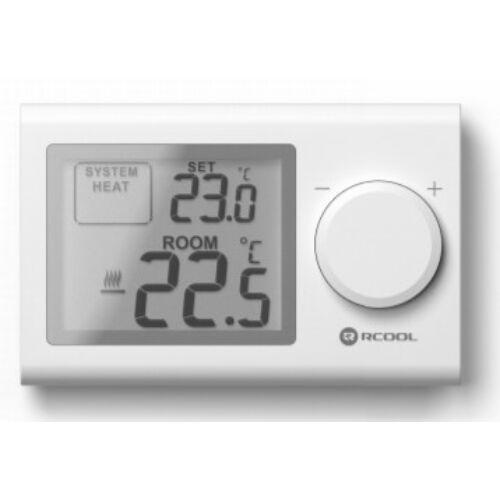 Rcool Szobatermosztát LCD nem programozható VISION3