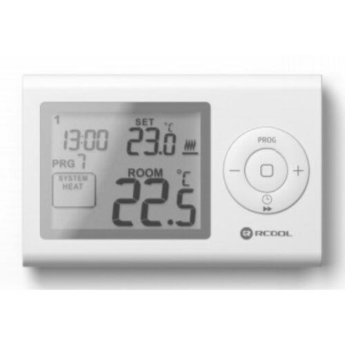 Rcool Szobatermosztát LCD programozható VISION7