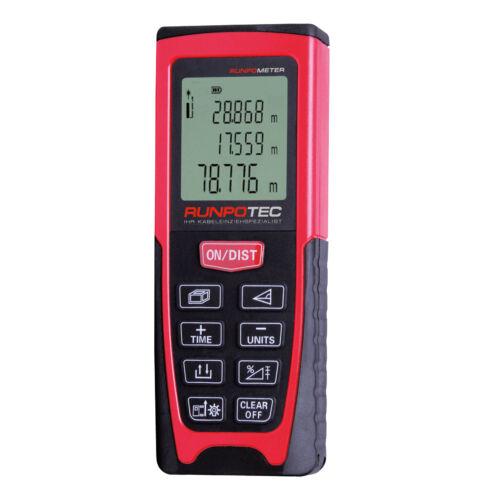 RUNPOMETER RM 80 – Lézeres távolságmérő