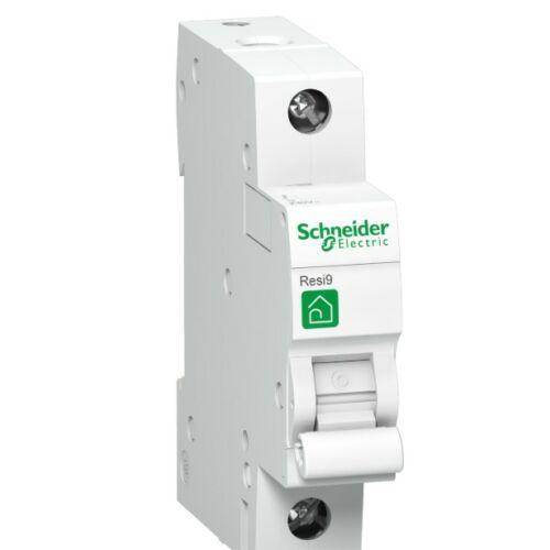 Schneider R9F04106 kismegszakító 1P 6A B karakterisztika