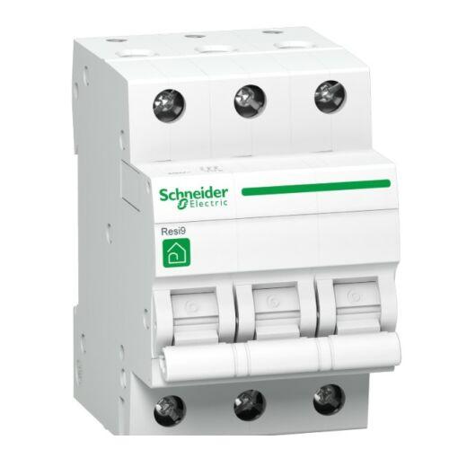 Schneider R9F14325 kismegszakító 3P 25A C karakterisztika