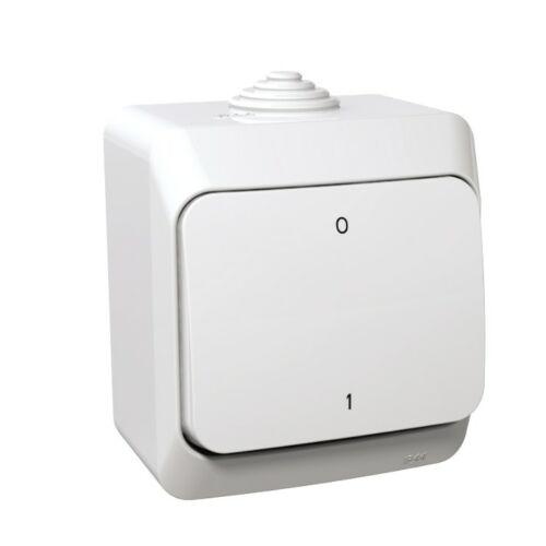 Schneider Cedar Plus 000520 102 kétpólusú kapcsoló fehér