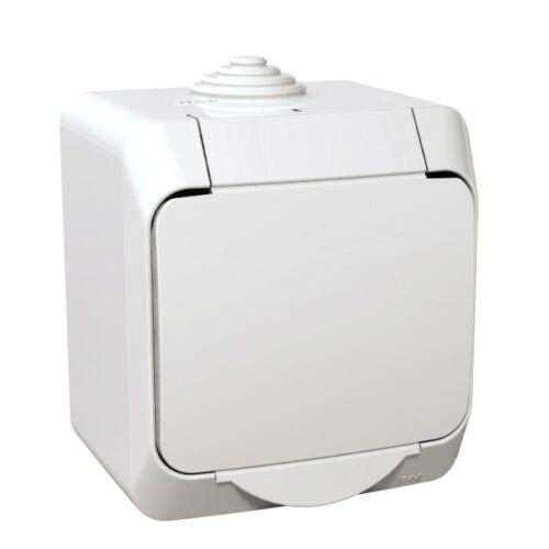 Schneider Cedar Plus 000541 162 2P+F dugalj fehér