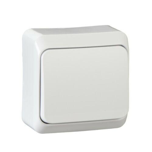 Schneider Prima 001010 101 egypólusú kapcsoló fehér