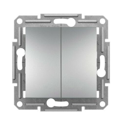 Schneider Asfora 0300161 105 csillár kapcsoló alumínium