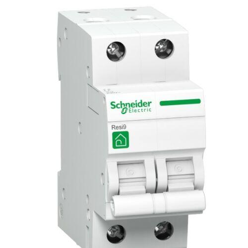Schneider R9F14206 kismegszakító 2P 6A,C karakterisztika