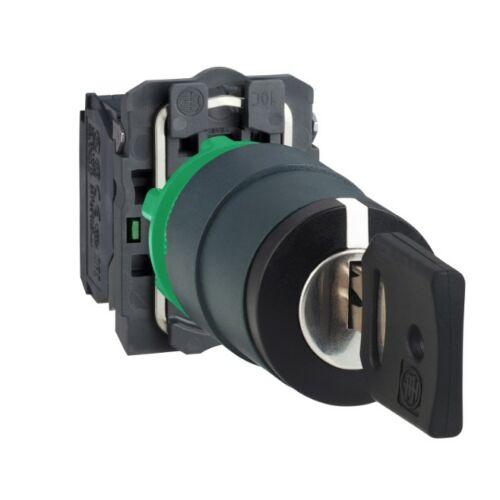 XB5-AG33 választókapcsoló 3 állású kulcsos 2no