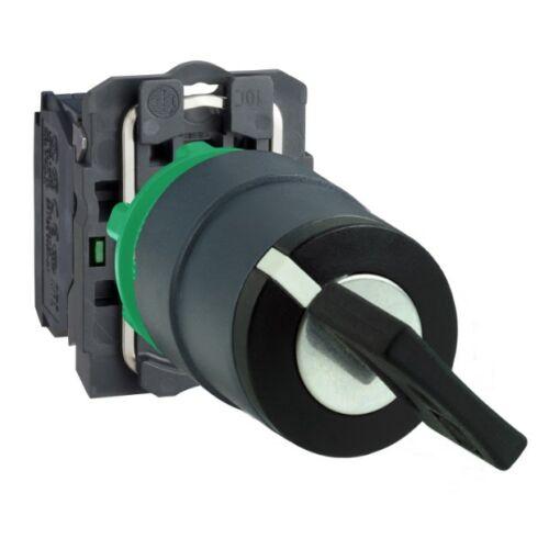 XB5-AG61 válsztókapcsoló 2 állású visszaugró kulcsos n/o komplett