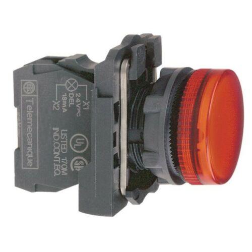 XB5-AVM4 LED jelzőlámpa piros 230V