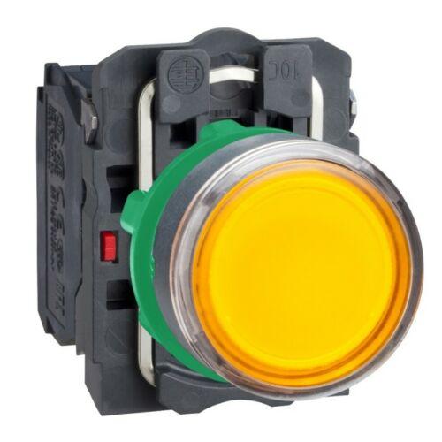 XB5-AW35M5 LED világító nyomógomb sárga