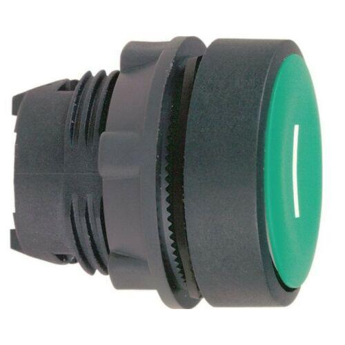 ZB5-AA331 nyomógombfej síkban lévő zöld I jelöléssel