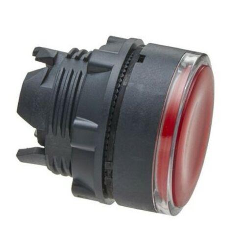 ZB5-AW343 LED világító nyomógombfej piros