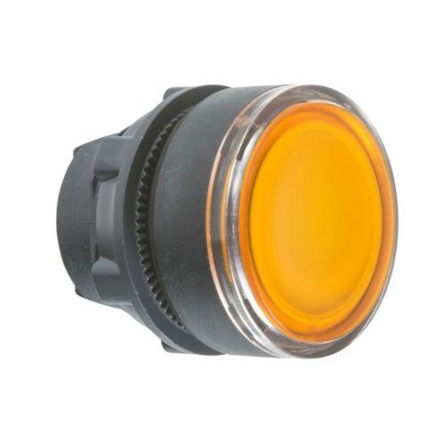 ZB5-AW353 LED világító nyomógombfej sárga