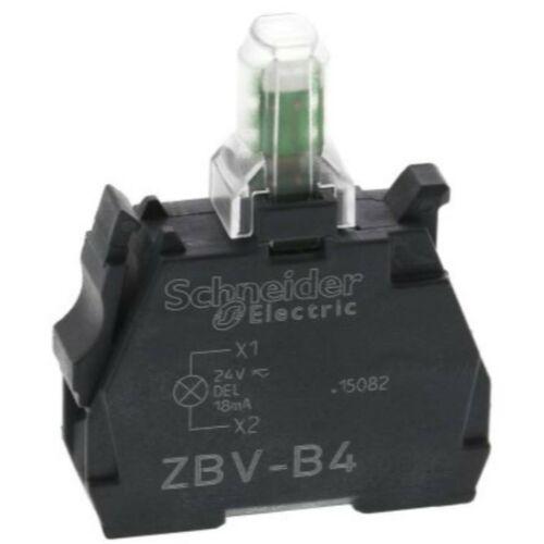 ZBV-B4 LED blokk piros 24V