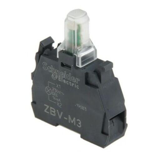 ZBV-M3 LED blokk zöld 240V