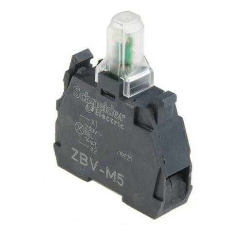 ZBV-M5 LED blokk sárga 230V