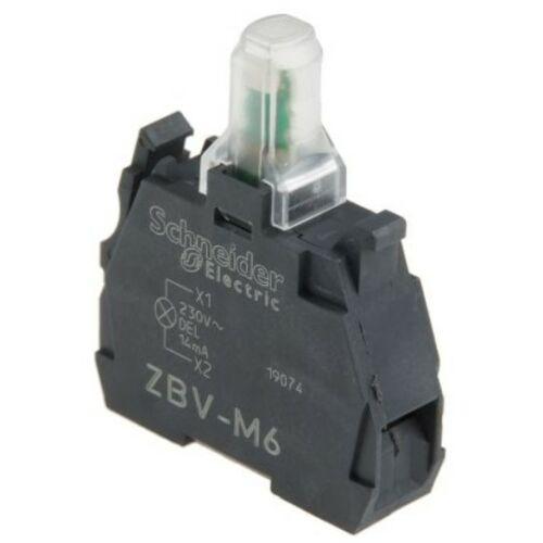 ZBV-M6 LED blokk kék 230V