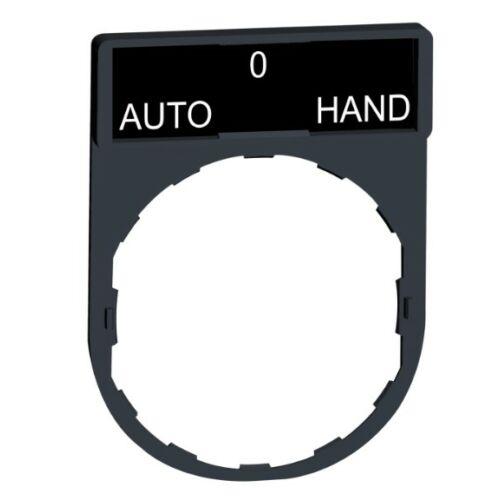 """ZBY-2385 címketartó """"AUTO-HAND"""" címkével"""
