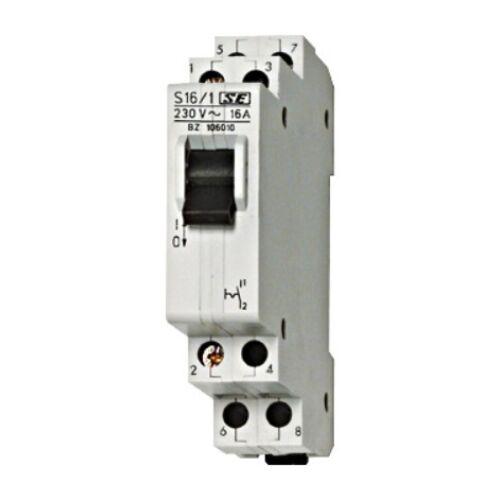 Schrack Sorbaépíthető kapcsoló, 3z, 16A, 1KE
