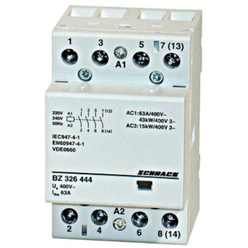 Schrack Amparo Sorbaépíthető mágneskapcsoló 63A, 4z, 3KE