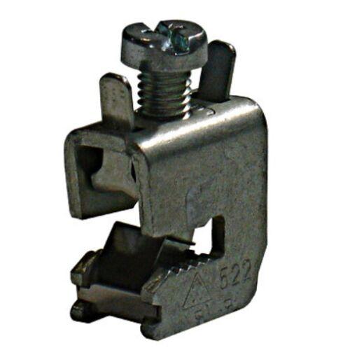 Schrack Vezetékcsatlakozó kapocs 5mm vastag sínre, 1,5-16mm2