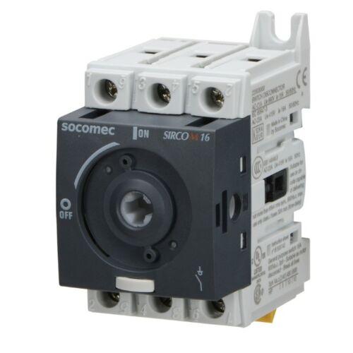 Socomec SIRCO M1 3P 16A kapcsoló hajtás nélkül 22003000