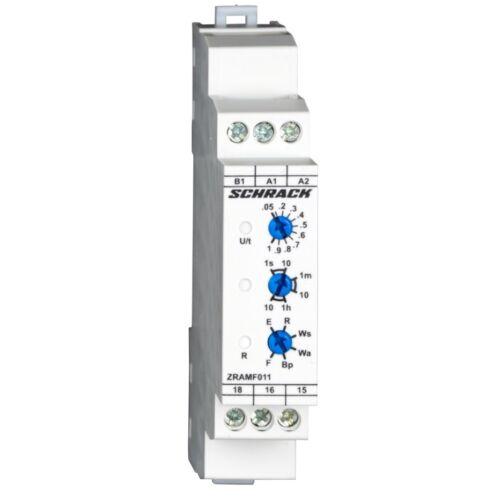 Schrack Amparo Multifunkciós időrelé 24-48VDC, 24-240VAC