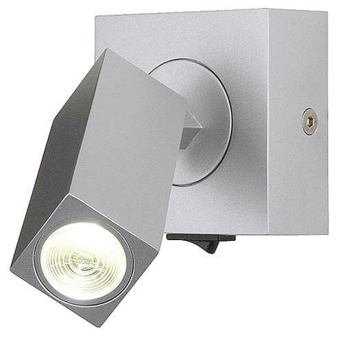 SLV Big White 146272 Stix 3W LED fali lámpatest meleg fehér LED 3W ezüstszürke