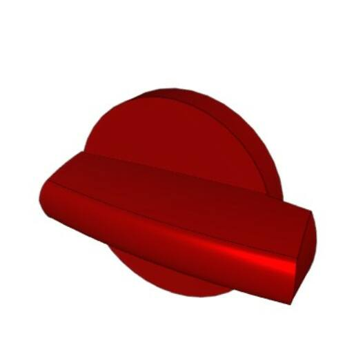 Socomec SIRCO M-hez 16-100A piros/sárga közvetlen kar 22995013