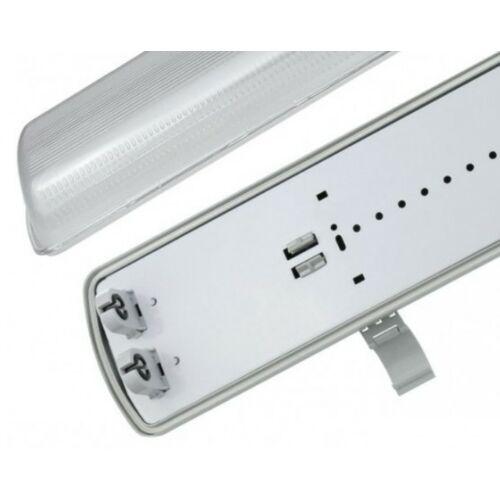 LIMEA LED Fénycsőre szerelt armatúra 2x60cm IP65