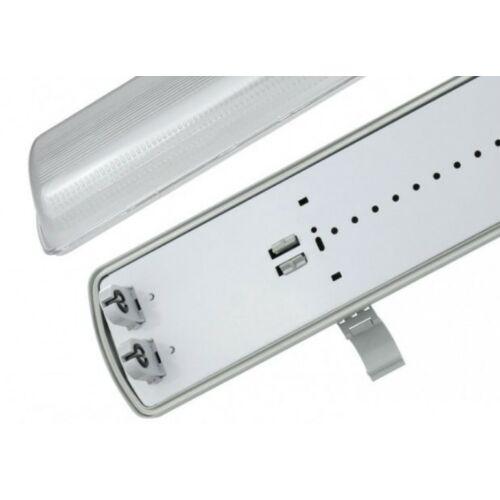 LIMEA LED Fénycsőre szerelt armatúra 2x120cm IP65