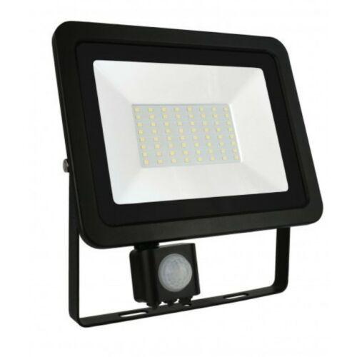 NOCTIS LUX 2 SMD 230V 50W IP44 NW fekete LED reflektor+mozg.érz.