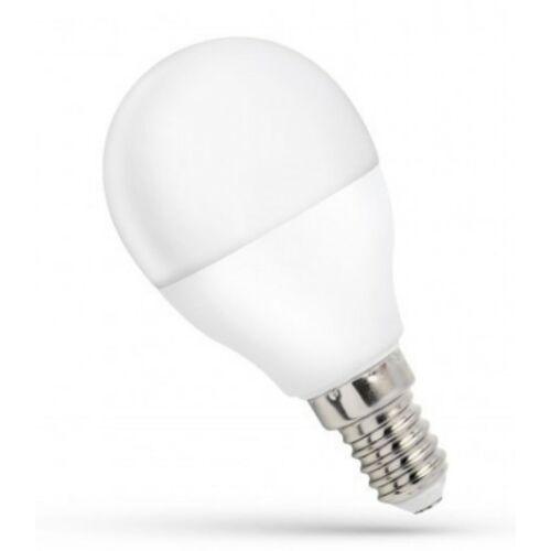 LED izzó E14 8W 4000K kisgömb