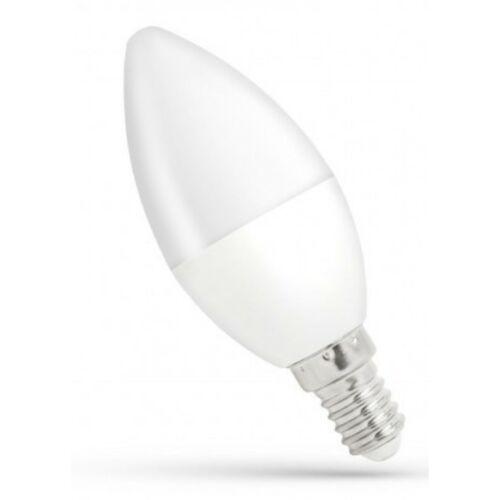 LED izzó E14 8W 4000K gyertya