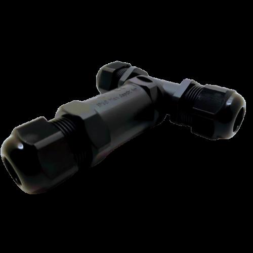 Tracon CST4-T tömszelencés kábeltoldó T-elágazó 0,5-4mm2