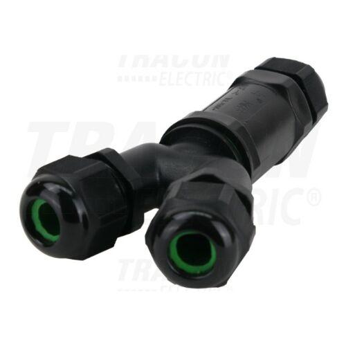 Tracon CST4-Y tömszelencés kábeltoldó Y-elágazó 0,5-4mm2
