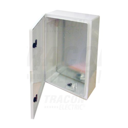Tracon TME604020 műanyag elosztó szekrény 600x400x200mm IP65