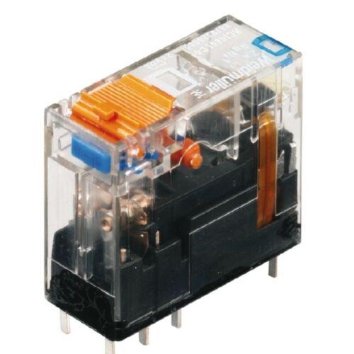 Weidmüller RCI484AC4 relé 2 morse 24VDC LED-es