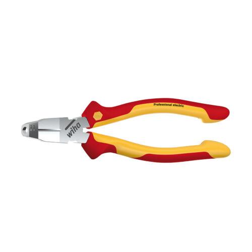 WIHA TriCut VDE Classic kábelvágó és csupaszító 170mm hossz