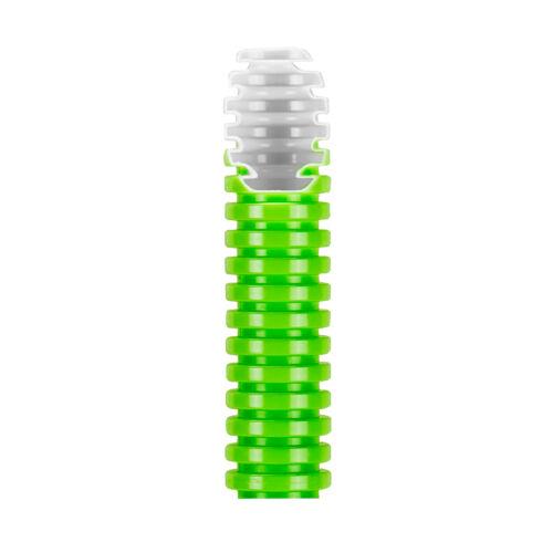 Lépésálló gégecső duplafalú 32mm zöld