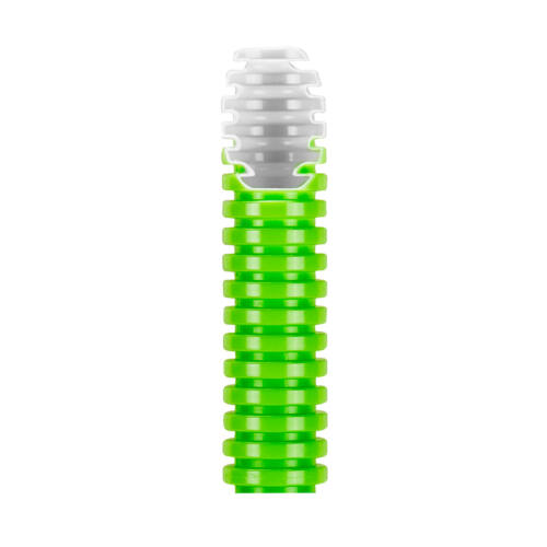 Lépésálló gégecső duplafalú 25mm zöld 75m/tekercs