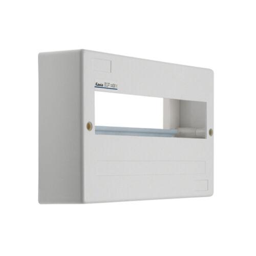 Kanlux 3853 DB112W 1x12P/SM falon kívüli 12modulos lakáselosztó ajtó nélkül