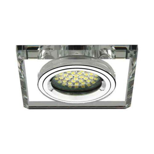Kanlux 18512 MORTA CT-DSL50-SR üveges beépíthető spot ezüst