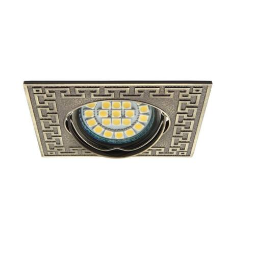 Kanlux 19540 PELIA CT-DTL50-AB beépíthető spot lámpa patinált réz billenthető