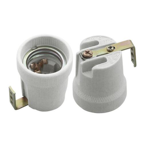 Kanlux 2161 E27-F porcelán foglalat beépíthető, lemezes