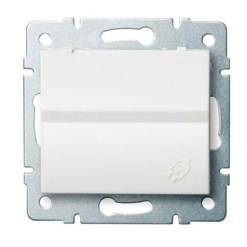 Kanlux 25086 LOGI 02-1230-102 fehér dugalj IP44