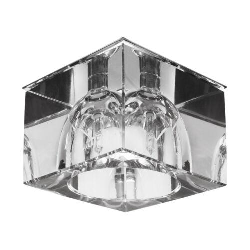 Kanlux 8662 TAZA CTX-DS20 fali lámpatest króm/áttetsző 20W 12V IP20